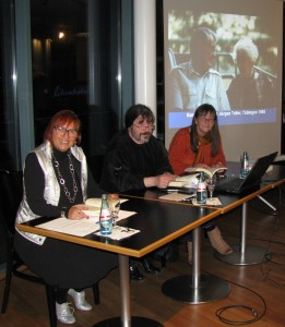 V.l.n.r.: Regine Möbius, Welf Schröter, Irene Scherer (Foto: © talheimer)