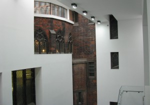 (Foto: © Welf Schröter) Konfrontationen der Identität - Konfrontationen der Architektur